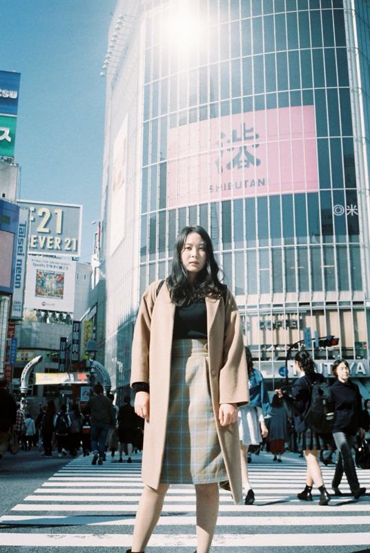 モデル 石田裕子
